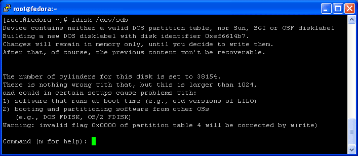 how to format hard drive with dos command