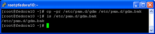Edit the gdm configuration file to enable root login to fedora 10, please make backup the gdm configuration file