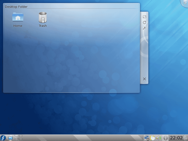 Fedora 12 KDE Desktop Screenshot