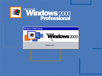 Windows 2000 Professional screenshot: Windows 2000 Setup