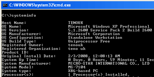 Goods additionally 2187702 besides Format View besides Check windows xp system information using systeminfo  mand also 891. on product id in xp