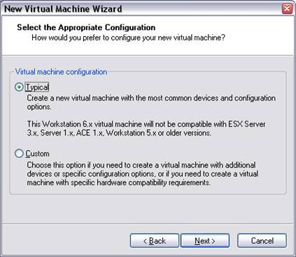 VMware Workstation Device Configuration