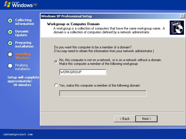 how to join windows computers to a workgroup